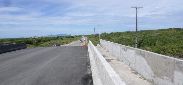 Ponte da Barra Nova será entregueoficialmente à população no dia 24/10