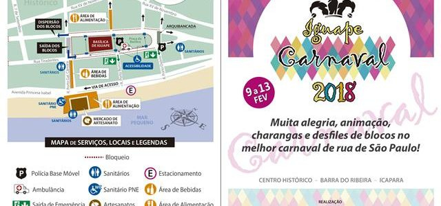 Programação Carnaval 2018 – Iguape
